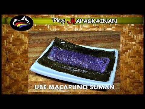 UBE MACAPUNO SUMAN Pinoy Hapagkainan