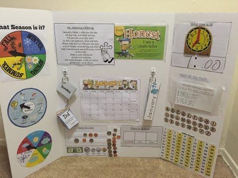 Make Your Own Circle Time learning Board- Prek/Kindergarten