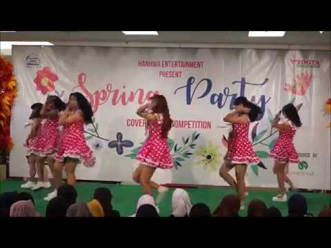[090417] Rookie - Angel Crown (Apink Dance Cover) at Spring Party