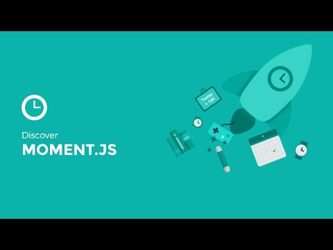 Moment.js 1/5 - Getting Started