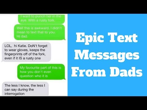 Epic Text Messages | Funny And Awkward Text Messages From Dads