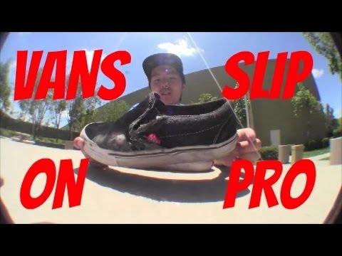 VANS SLIP-ON PRO SHOE REVIEW