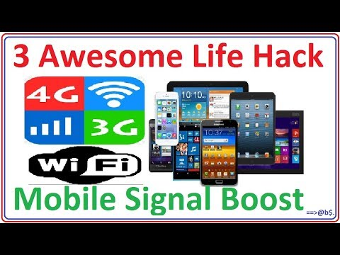 3 Awesome Life Hack use for Mobile Signal Boost - cell phone booster