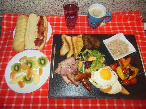 How To Make Kenyan Full English Breakfast / Petit-Déjeuner Anglais Complet Revisité Kenyan