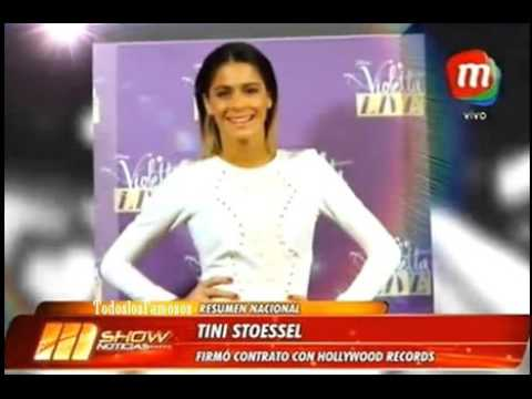 Mshow-Tini Stoessel firmó contrato con Hollywood records