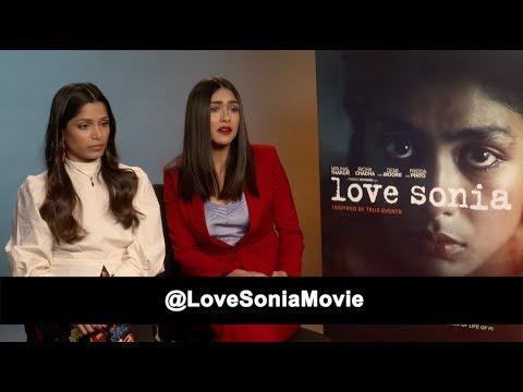 Xxx Mp4 EXCLUSIVE Interview Freida Pinto Mrunal Thakur Love Sonia The Fan Carpet 3gp Sex