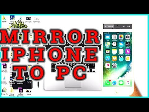 HOW TO SCREEN SHARE IPHONE TO PC
