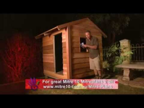 The Garden Gurus - Mitre10 Project Planners - Build a Cubby House