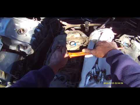 Spark plug and coil replacement 2007 Chrysler 300 3.5L