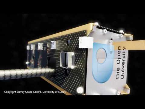 AlSat-Nano CubeSat in orbit