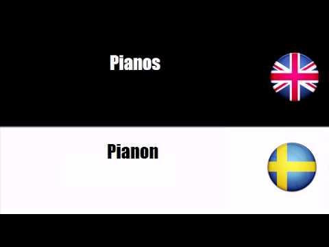 LEARN SWEDISH = Keyboard instruments