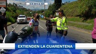 Titulares de Teleantioquia Noticias - martes 19 de mayo de 2020