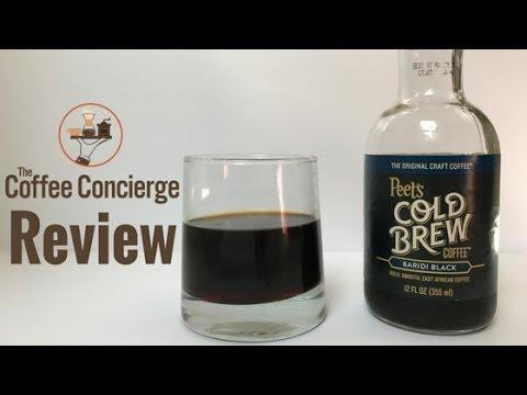 Peet's Coffee - Baridi Black Cold Brew Review