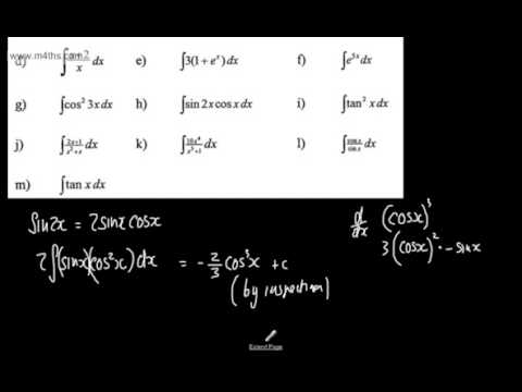 Core 4 - Integration (16) - Last Minute Revision! Exam Practice - Edexcel, AQA and OCR Maths