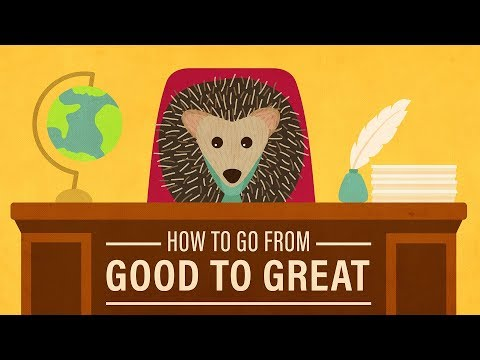 How to Go from Merely Good to Truly Great
