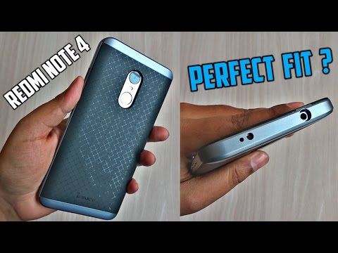 Redmi Note 4X Case / Cover Indian Variant - IPAKY Case - Perfect Fit with Good Design & Durability ?