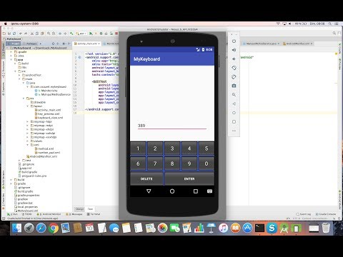 Learn to create your own System Keyboard for Android