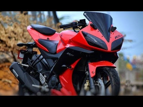 Yamaha YZF-R15 GF Edition Modified By Chennai-Based By Gears