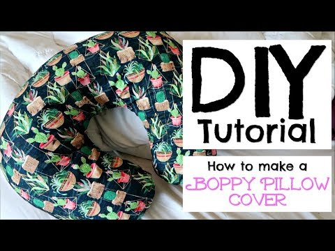 HOW TO MAKE A BOPPY PILLOW COVER || DIY TUTORIAL