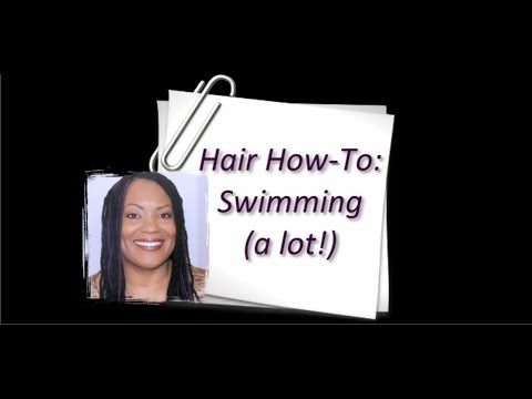 How to Maintain Healthy 4C Hair While Swimming (a lot!)