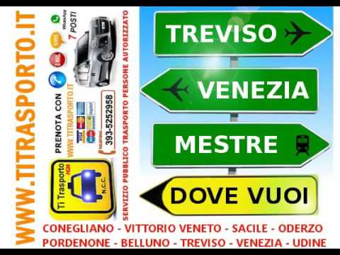 VENICE transfers from/to the airports of Venice Treviso - Mestre Train Station