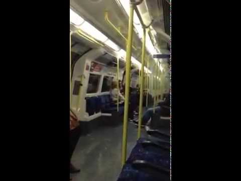 London Tube from Euston to Finchley Central 14/08/14
