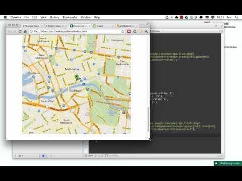 Responsive, Retinafied Google Map Images