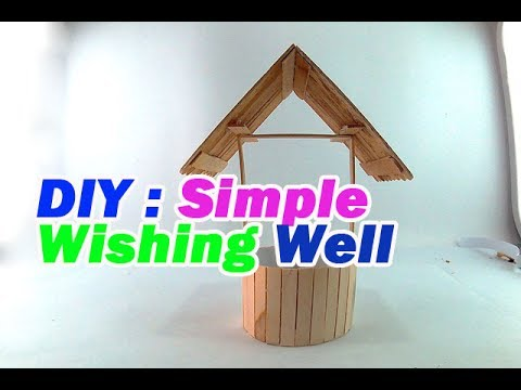 How to Make a Simple wishing well