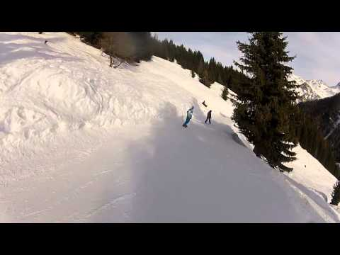 La Plagne 2013 snowboard & ski