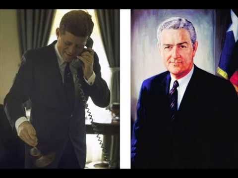 PHONE CALL BETWEEN PRESIDENT KENNEDY AND JOHN CONNALLY (NOVEMBER 7, 1962)