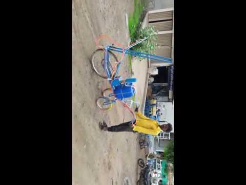 दवा छिकड़ने वाली ट्राई साइकिल dava chidakne wali cycle Spray with cycle