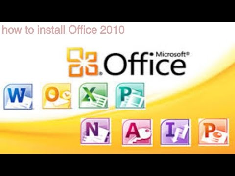 How to Install Office 2010