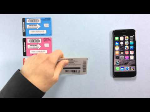 iPhone 6s with Straight Talk - SIM Cards