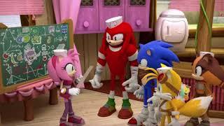 Соник Бум - 1 сезон 31 серия - У Эми | Sonic Boom - мультик для детей
