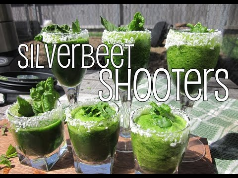 Silverbeet Shooters with The Backyard Blendologist