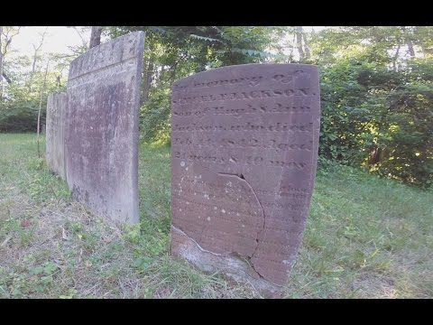 Abandoned Places - Cemetery in Farmingdale Monmouth County New Jersey off I195