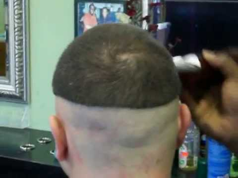 Bald Fade Haircut, Get The Lines Out Pt. 1 of 3