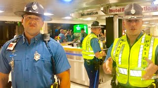(CRAZY) SO MANY COPS SHOWED UP FOR ME AT THE AIRPORT!!! 1st Amendment Audit FAIL!!!