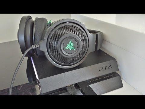 Razer kraken 7.1 - do they work on PS4 - best headphones