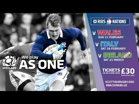 RBS 6 Nations 2015 - As One