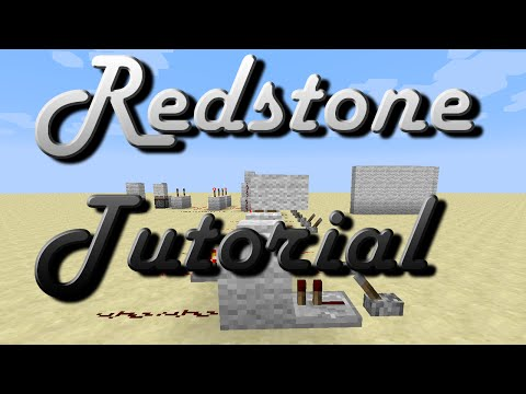Redstone Computer Tutorial - Episode 1 - The very basics
