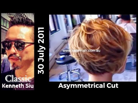 Kenneth Siu's Haircut - Asymmetrical cut
