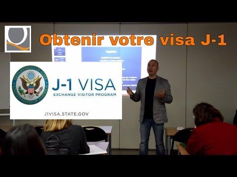 Obtenir votre visa J-1