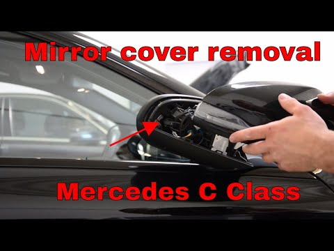 Mercedes C Class 2016 Mirror cover removal