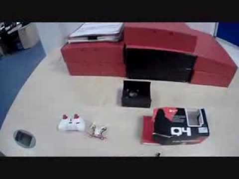 Hubsan Q4 Nano Quadcopter Unboxing and Test Flight