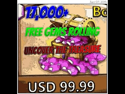 17k Rolling Free gems + Uncover Event