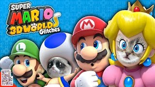 Glitches in Super Mario 3D World - Cats Everywhere - Glitches With DPadGamer