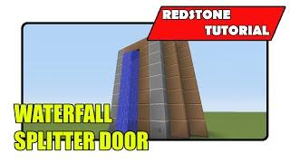 Waterfall Splitter Door Minecraft Xbox Tu20playstation Cu8