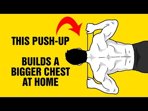 Build A Bigger Chest At Home With This Extreme Push-Up Exercise