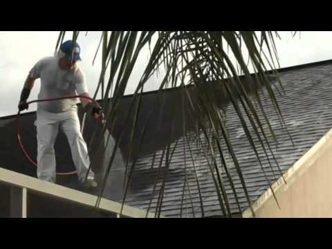 Cleaning Shingle Roof Soft Roof Wash